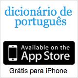 Dicionário de Português para iPhone