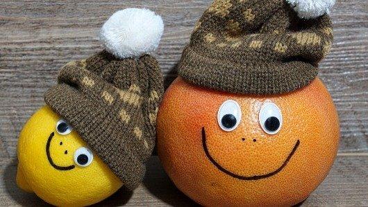 Fruta com L