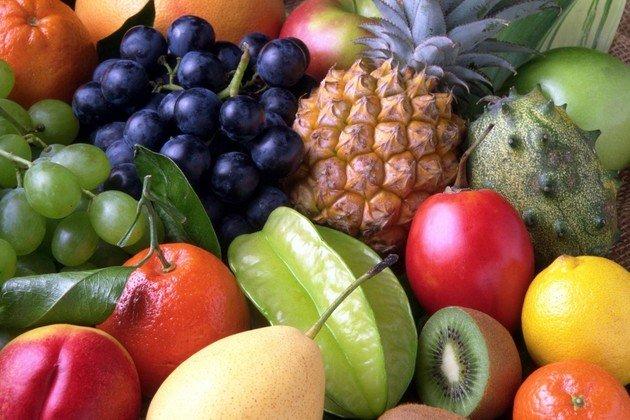 Lista de frutas